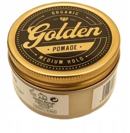 Golden Beards Hair Pomade - próbka 3g (1)
