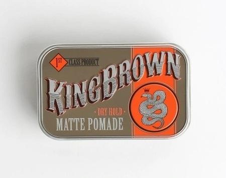 King Brown Matte Pomade pomada - próbka 3g (1)